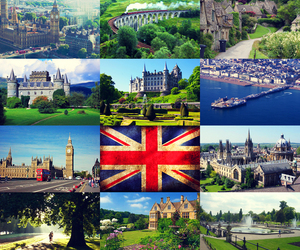 Collage, Great Britain, and green image