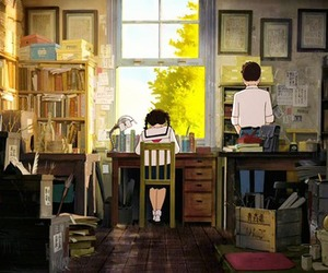 anime, school, and studio ghibli image