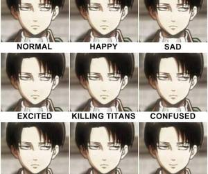 cleaning, funny, and levi image