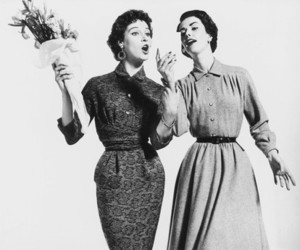 1950, body, and dress image