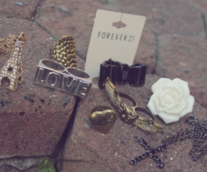 forever 21 and rings image