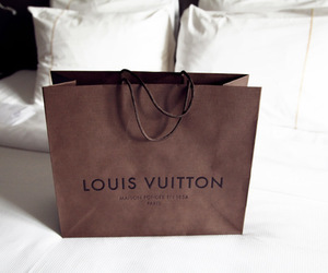 Louis Vuitton, shopping, and bag image