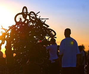 bike and boys image