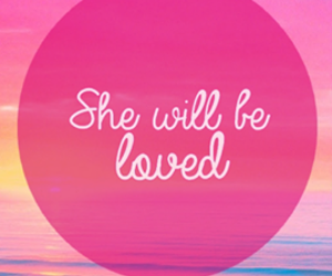 love, pink, and maroon 5 image