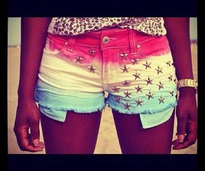 shorts, blue, and summer image