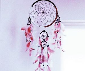 beautiful, dreamcatcher, and pink image