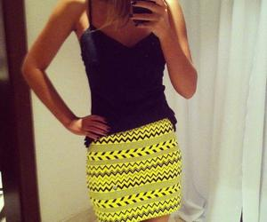 skirt, black, and style image