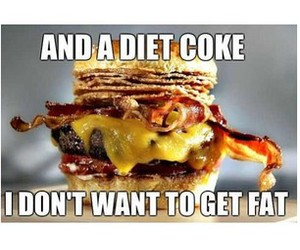 diet and funny image