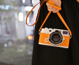 camera and orange image