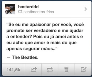 beatles, boy, and frase image