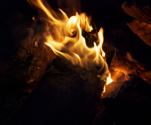 fire, photography, and warm image