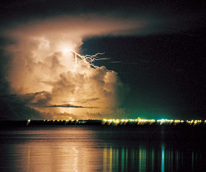 photography, lightning, and sky image