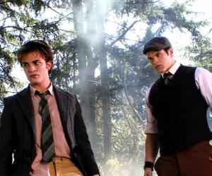 edward cullen, emmett cullen, and twilight image