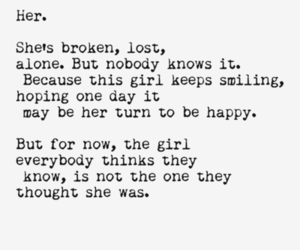 quote, broken, and lost image