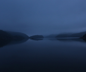 blue, mysterious, and photography image