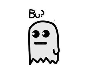 bu, ghost, and funny image