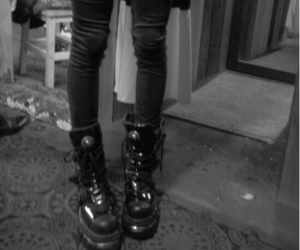 boots, thinspiration, and thinspo image