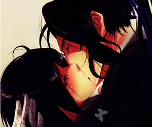 anime, anime couple, and blood+ image