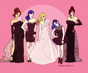 fairy tail, erza scarlet, and juvia loxar image