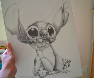 drawing and stitch image