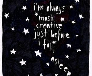 quotes, stars, and creative image