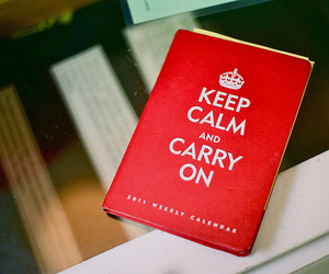 book, keep calm, and photography image