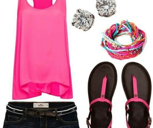 bracelets, clothes, and style image