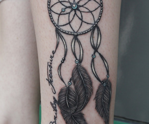 Dream and tattoo image