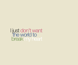 heart, quote, and world image