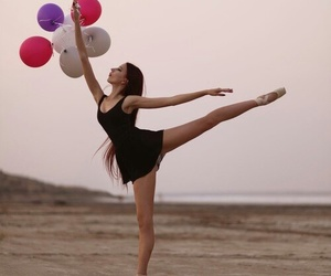 ballet, balloons, and dance image