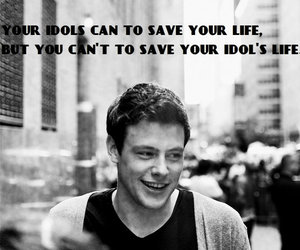 I Love You, cory monteith, and my darling image
