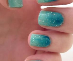 nails, blue, and dubtrackfm image