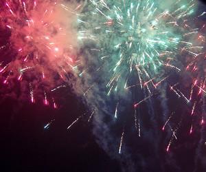 beautiful, firework, and fireworks image
