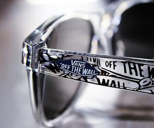 vans, glasses, and sunglasses image