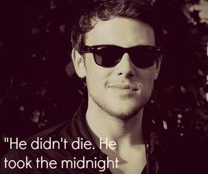 cory, glee, and rest in peace image
