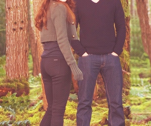 bella cullen, edward cullen, and forever image