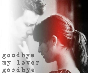 cory monteith, glee, and goodbye image