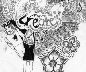 art, create, and doodle image
