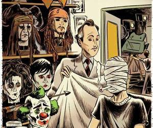actor, johnny depp, and drunk image