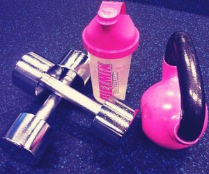 fitness and kettlebell image