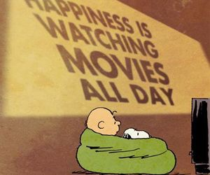 happiness, movies, and quote image