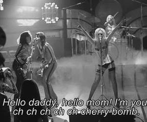 the runaways, cherry bomb, and quote image
