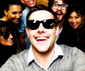 glee, cory monteith, and cute image
