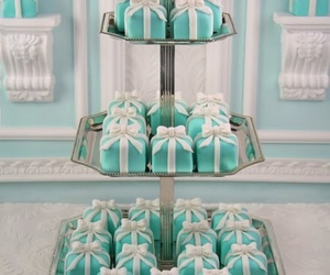 cake, tiffany, and blue image