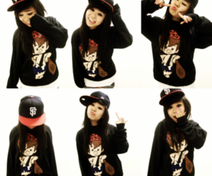 cute, swag, and asian image