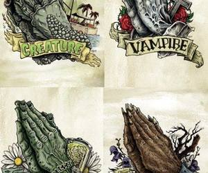 creature, monster, and vampire image