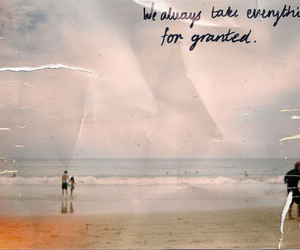 quote, beach, and photography image