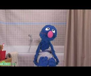 grover, sesame street, and old spice image