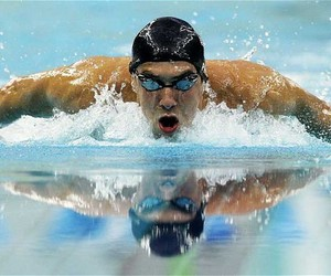 butterfly, lol, and Michael Phelps image
