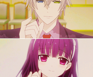 anime, inu x boku ss, and promise image